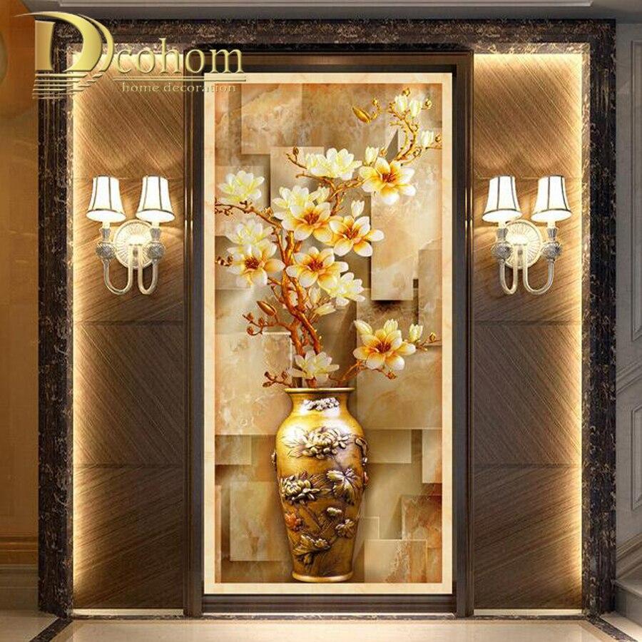 Online kopen wholesale orchidee muurschildering uit china orchidee muurschildering groothandel - Behang voor restaurant ...