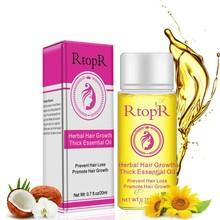 Herbal Hair Growth Thick Essential Oil Anti-Hair Loss Promote Hair Growth For Men