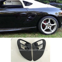 Carbon Fiber Side Vents for Porsche boxster 986 Car Modification Body Kits Side air in take