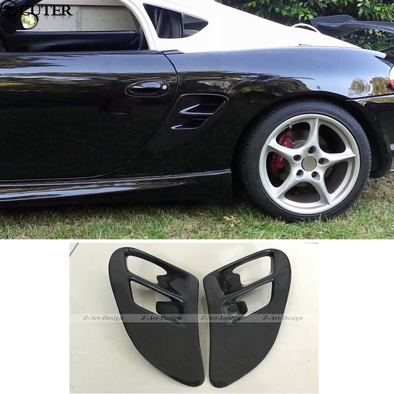 FOR 97-04 Boxster 986 Under Spoilers Rear Diffusers Bumper Lips Splitter 1 pair