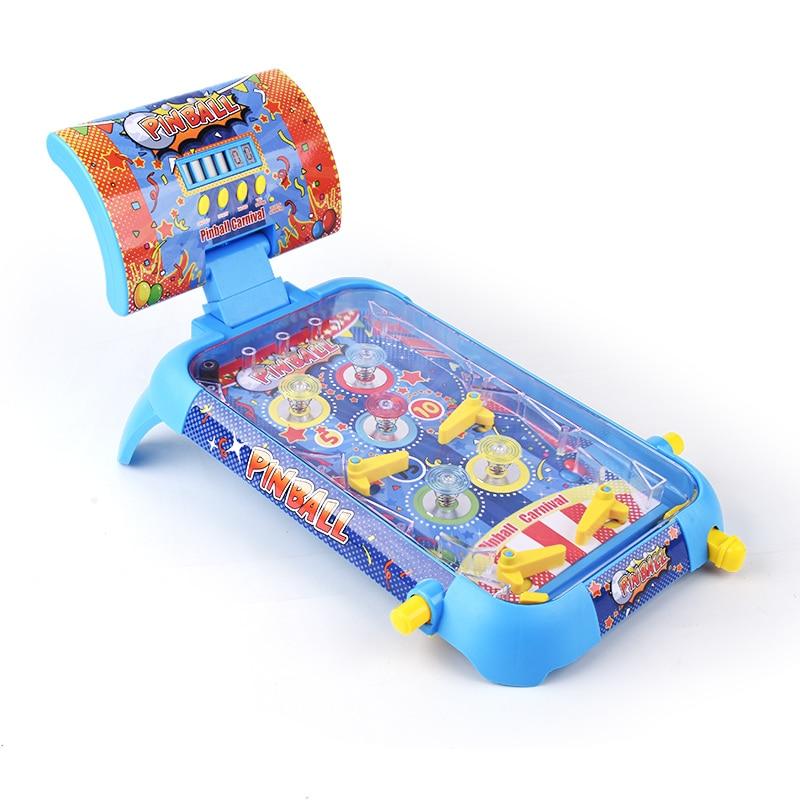 Children Pinball Games Desktop Pinball game machine fun parent child interactive desktop educational toys