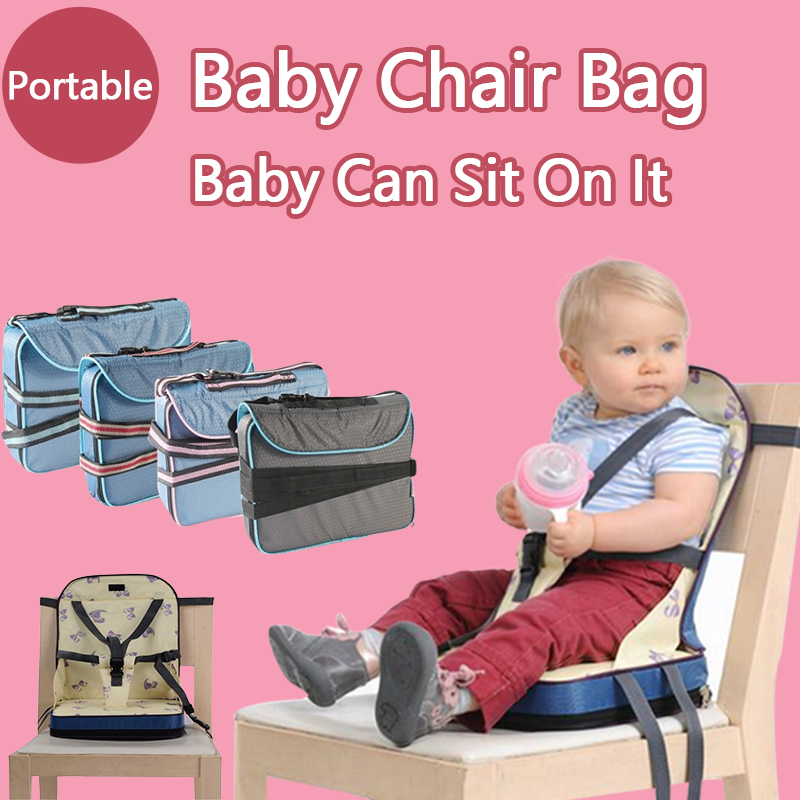 Superb Portable Baby Chair Bag Foldable Infant Travel Booster Seat Momy Bag Kids Feeding Safety Seat Newborns Nursing Dining High Chair Hot Discount Black Andrewgaddart Wooden Chair Designs For Living Room Andrewgaddartcom