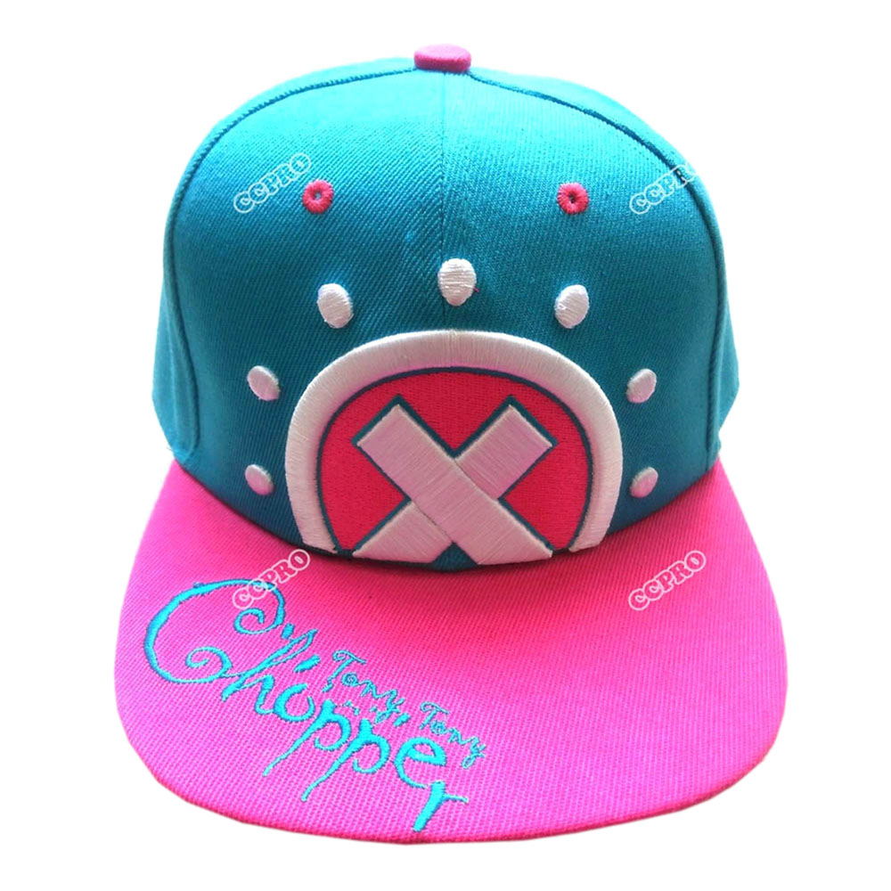 Anime One Piece Hip-hop Hat Tony Tony Chopper/trafalgar Law Skull/monky D Luffy Skull With Embroidery Mark Outdoor Cap