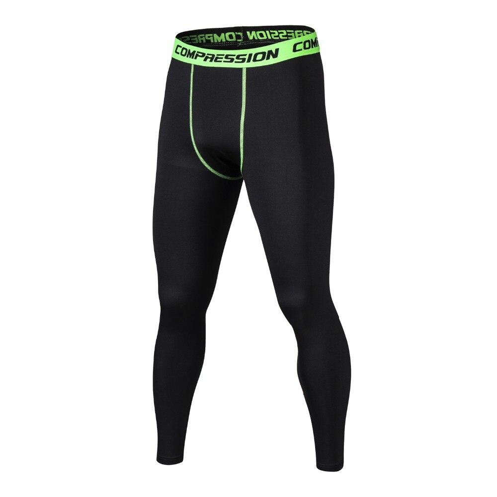 High Elastic Compression Brand Jogger Leggings Men Casual Bodybuilding Pants Men Crossfit Skinny Leggings G yms Pants For Men