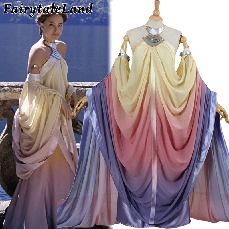 Star Wars Costume Revenge Of The Sith Padme Amidala Lake Dress Star Wars Padme Amidala Costume Cosplay Dress Custom Made