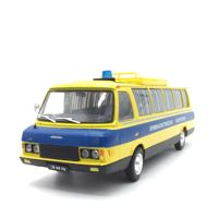1:43 Eastern European Soviet Union diecast bus alloy car model length 16cm