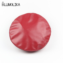 Lady Felt Pu Leather Solid Color Beret Caps for Women Autumn Winter Flat Berets Hat Girl's Fashion Style Spring Sweat Cap Hats korean version spring and winter gorro cap lady s fashion drape delicate women hats 3 solid color high quality free shipping hot