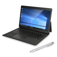 Chuwi CoreBook 2 в 1 планшетный ПК с клавиатурой и стилусом 13,3 дюймов Windows 10 8 Гб 128 ГБ Двойная WiFi Двойная камера type-C