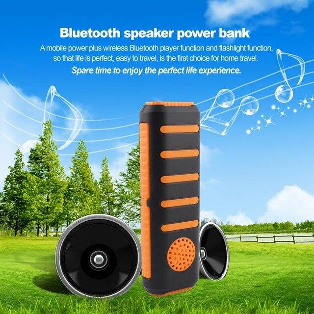 DCAE Многофункциональный Power Bank 5600 мАч Внешний Bluetooth Динамик Портативное Зарядное Устройство для Смартфонов