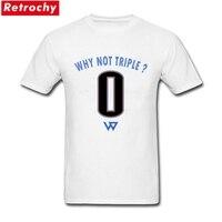 2017 الصيف الأبجدية الصفر لماذا لا الثلاثي t قمصان رجل الشارع الشهير شعار تي شيرت تصميم قصيرة الأكمام القطن الناعمة الذكور