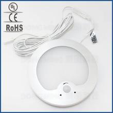 3.2W LED PIR infrared Body Motion Sensor lamp 12V cabinet light wall mount nightlight Detector for wardrobe downlight LED panel