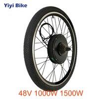 48 в 1000 Вт 1500 Вт Электрический велосипед мотор колеса высокой скорости бесщеточный не Планетарная втулка Задний Передний 26 27,5 28 29 700C колеса