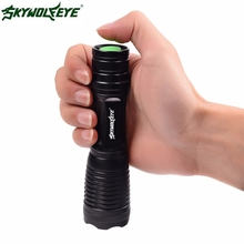 JA 13 Shining Hot Selling Fast Shipping Outdoor  Cree T6 4000LM Tactical LED Flashlight Rechargeable 5 Modes Torch Lamp Zoomable
