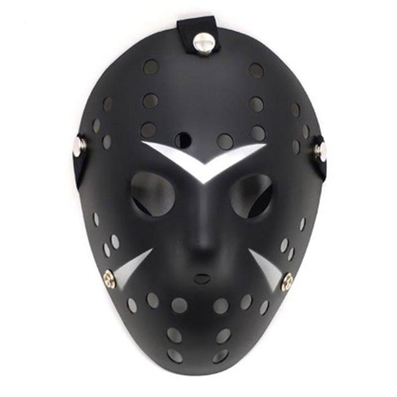 Unisex Men Women New Hot Masks Black Friday the 13th Horror Movie Hockey Scary Halloween Costume Prop Mask Funny Plastic Fashion