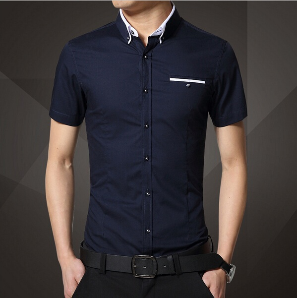 Buy 2015 new brand mens dress shirts for Mens casual shirts brands