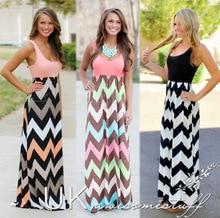 Summer dress long style casual women dress plus size clothing beach dress chiffon