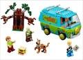 305 unids Bole 10430 Máquina del Misterio, Fred Shaggy Scooby Doo Zeke Zombie figuras bloques de construcción de juguetes Compatible con 029 P