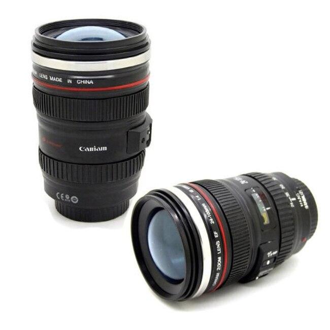 Coffee mug 1:1 camera lens