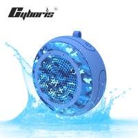 CYBORIS True 5W Swimming Ipx7 Waterproof Outdoor Mini Portable Deep Bass Mono Wireless Shower Bluetooth TWS