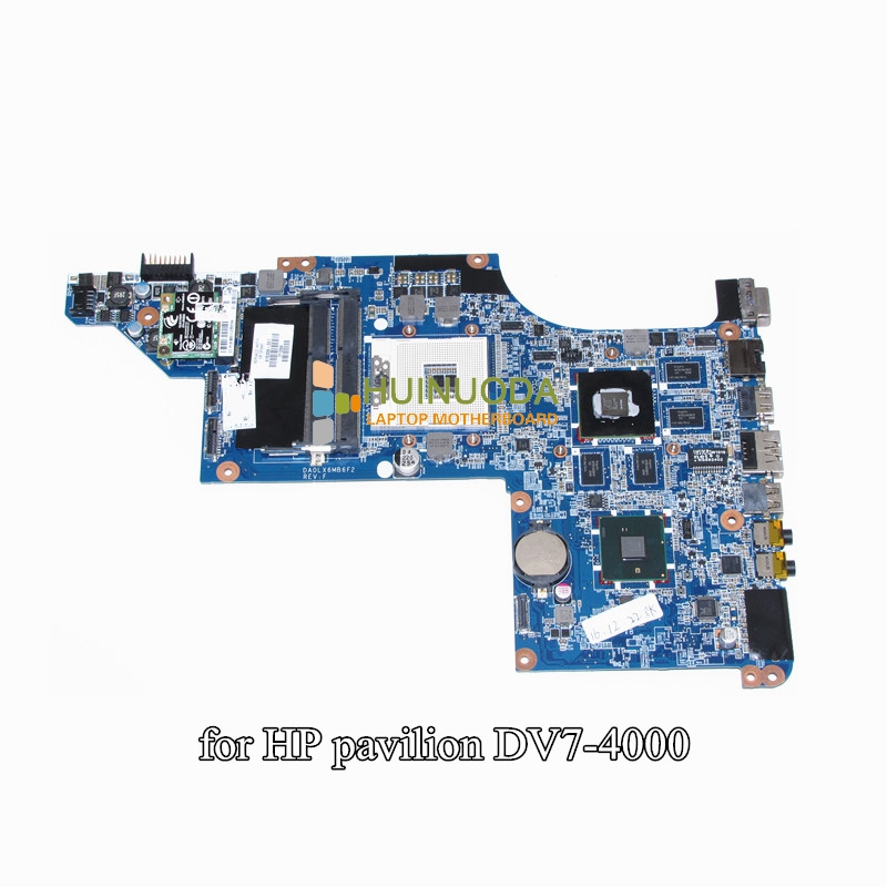 Laptop Motherboard for HP pavilion DV7 DV7T DV7-4000 nvdia HD5650M 17.3 inch DA0LX6MB6F2 615308-001 mainboard