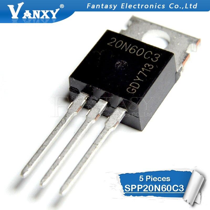 5 шт. SPP20N60C3 TO220 20N60C3 TO 220 SPP20N60 Новый и оригинальный IC|ic 2|   | АлиЭкспресс - Радиодетали