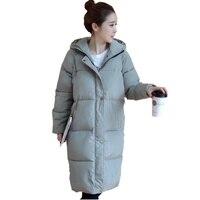 Winter Coat Women Oversized Coats Plus Size Cotton Padded Jacket Abrigos Mujer Hooded Casual Parka Winter Women Coat C2738