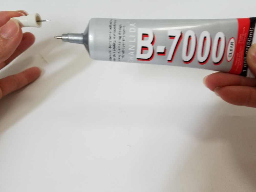 ZHANLIDA B7000 50ml multi-purpose Adhesive Glue Stick for Jewelry Nails Mobile Phone Glass