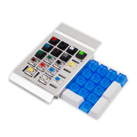 Cherry Kailh Gateron Green Clear White Switches Shaft Testing Tool Switch Tester 6 Plate Color And O Ring As Gift