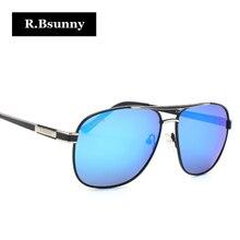 R.Bsunny Fashion Sunglasses man luxury brands polarized glasses for men classic Design Driving Glasses Goggles Oculos de sol