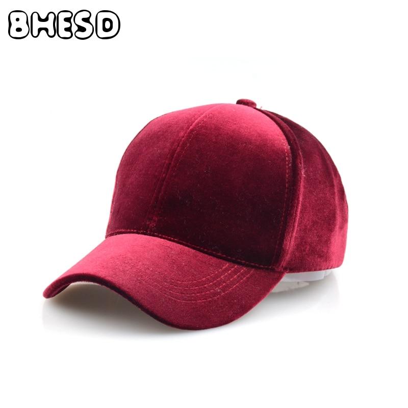 abee9f661b8291 BHESD 2017 Winter New Soft Plain Dad Hat 6 Panel Faux Suede Baseball Cap  Autumn Men Women Adjustable Ball Caps Bone Gorro JY-577