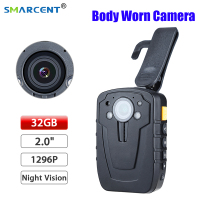 D900 64GB Police Cam DVR IR Hands Free Police Body Worn Camera Full HD 1080P Video Recoder Mini Camcorder Night Vision Camera