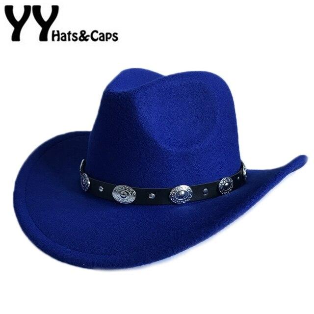 1c781c3ee US $9.05 31% OFF|Casual Winter Hat For Women Vintage Trilby Cap Men Western  Cowboy Hat Autumn Fedora Jazz Cap Chapeus para os Homens YY17170-in ...