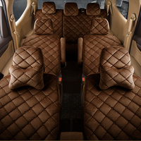 3D Overall Surrounded 7 Seat Plush Cushions Warm Perfect Fit Four Color Optional Car Seat Covers