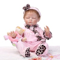 Wholesale realistic reborn baby doll popular baby dolls real soft gentle touch sleeping baby doll