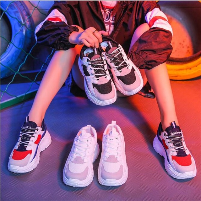 8bffe83b4f3 Spring Autumn Women Casual Shoes Comfortable Platform Shoes Woman Sneakers  Ladies Trainers Chaussure Femme SX1450