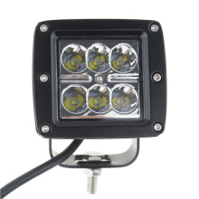 1pc 3″ 18W 24V 12V 6LEDs Working Light Spotlight for SUV 4WD Offroad ATV Truck Tractor Trailer Motorcycle Boat Fog Lightbar