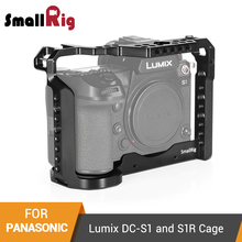 SmallRig Cage for Panasonic Lumix DC-S1 and S1R Camera Cage With Cold Shoe and Nato Rail -2345