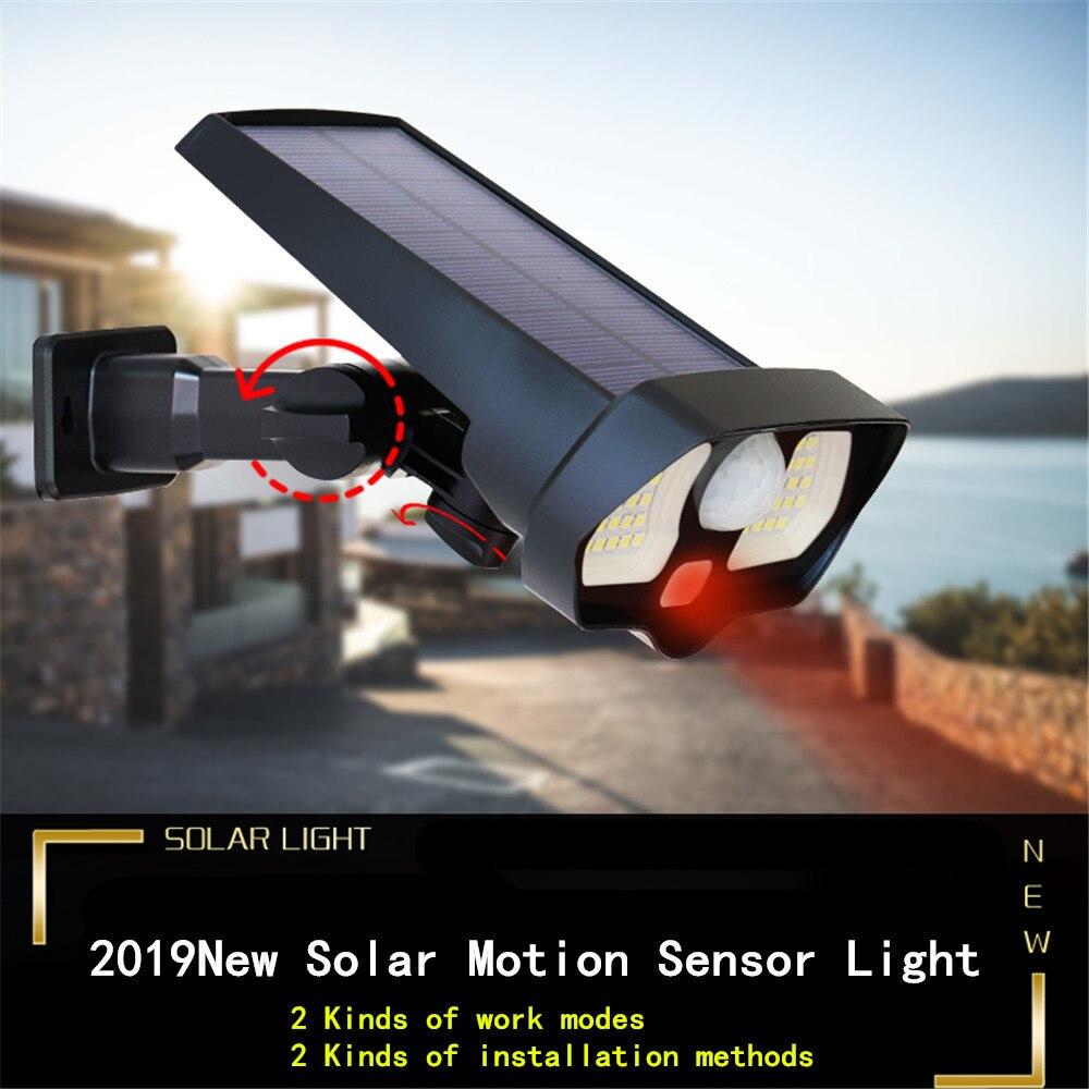 ar livre sensor de movimento noite segurança