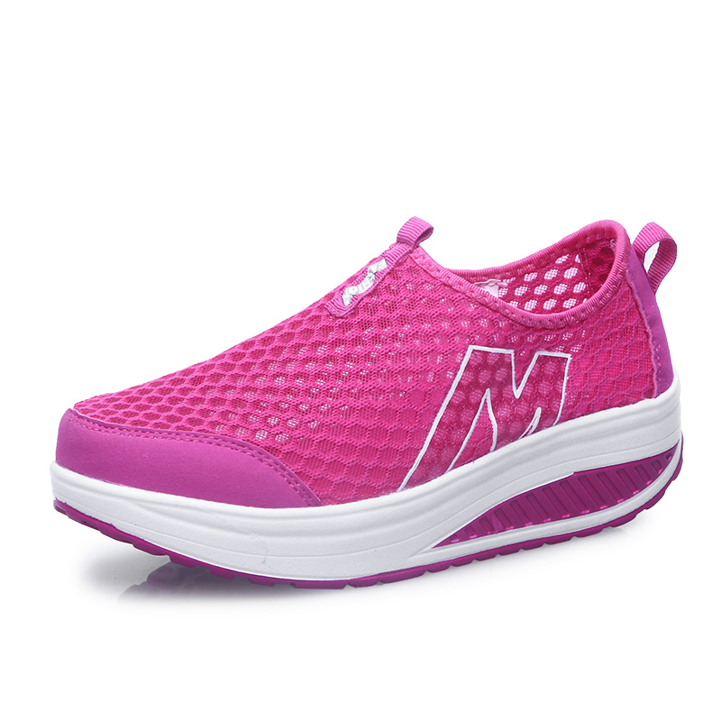 Height Increasing Summer Shoes Women's Casual Shoes Sport Fashion Walking Shoes for Women Swing Shoes Breathable zapatos mujer hot height increasing 2016 summer shoes women s casual shoes sport fashion walking shoes for women swing wedges shoes breathable
