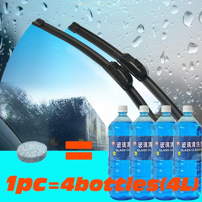10 Stücke Auto Windschutzscheibe Reinigung Wischer Brause Tabletten Auto Fenster Reinigen Auto Zubehör Glas Reiniger Solide Wischer Feinen Klar Fein Verarbeitet