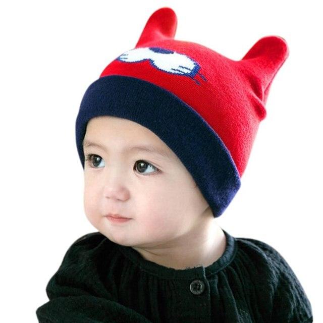 Winter warm baby boy kleinkind mode gestrickte nette häkeln hut ...