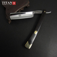Titan high quality shaving razor stainless steel blade sharp already staight razor free shipping