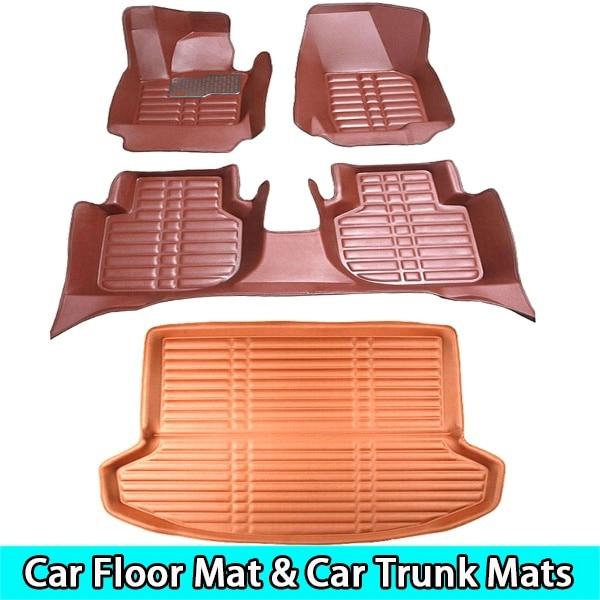 SUNNY FOX car floor mats for Toyota Camry Corolla RAV4 Mark X Crown Verso 5D Waterproof car-styling leather Anti-slip carpet linSUNNY FOX car floor mats for Toyota Camry Corolla RAV4 Mark X Crown Verso 5D Waterproof car-styling leather Anti-slip carpet lin