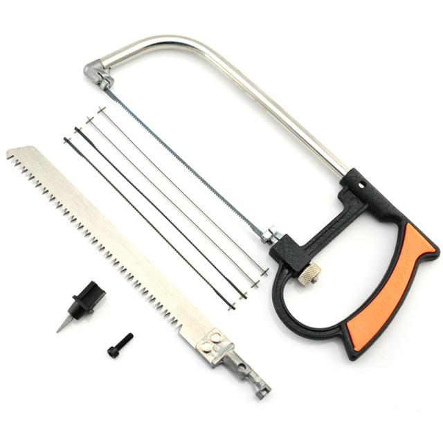 8 in 1 Metal Magic Saw Hacksaw 6 Blades