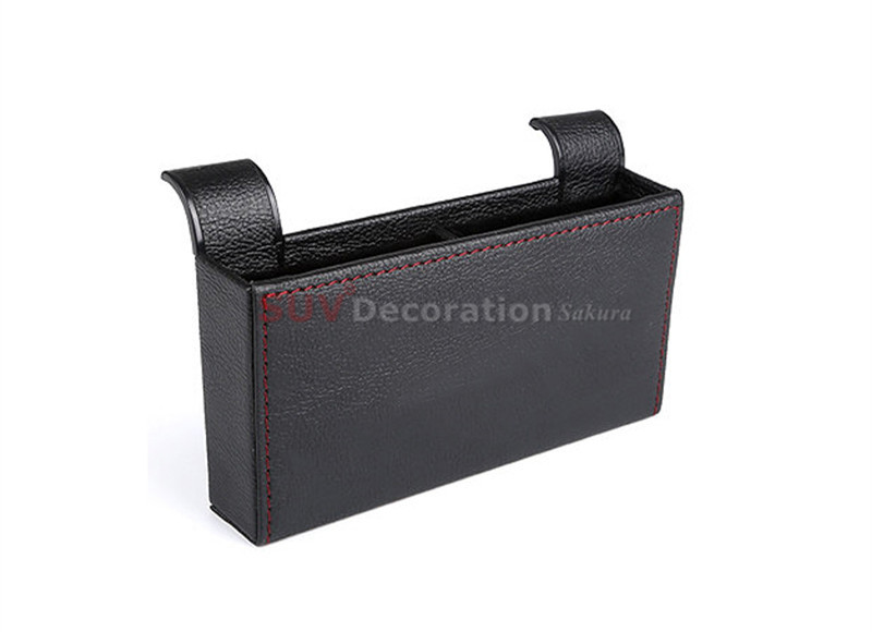 Accessories New! NEW!! For Porsche Macan 2014 2015 2016 Front Central Car Seat Seam Storage Box Holder new
