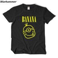 Warhammer Minions T Shirt Men Nirvana Logo Rock Fans Print Funny T Shirts Casual Tshirt Homme