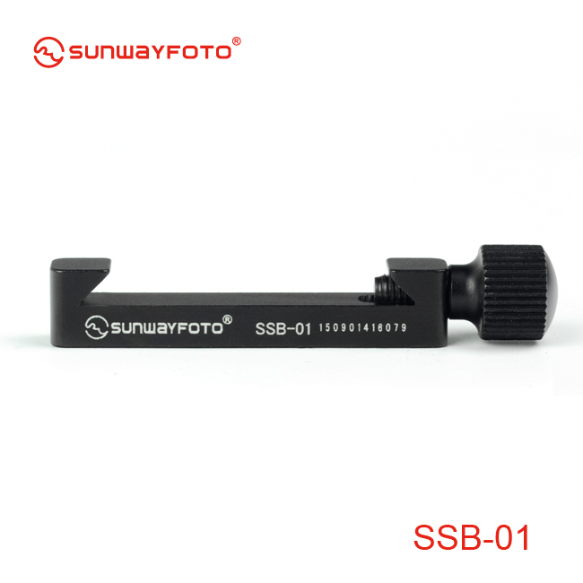 SUNWAYFOTO Camera Tripod Accessories Index Stop Bar SSB-1 for Quick Release Plate L Plate Nodal Slide