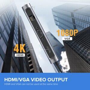 Image 2 - Ugreen Thunderbolt 3 Dock USB Type C to HDMI HUB Adapter for MacBook Samsung Dex Galaxy S10/S9 USB C Converter Thunderbolt HDMI