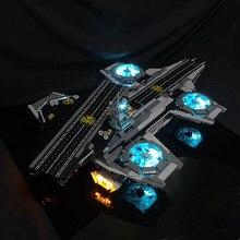 Led Light Kit  (Only Light Set) For  76042 the Shield Helicarrier