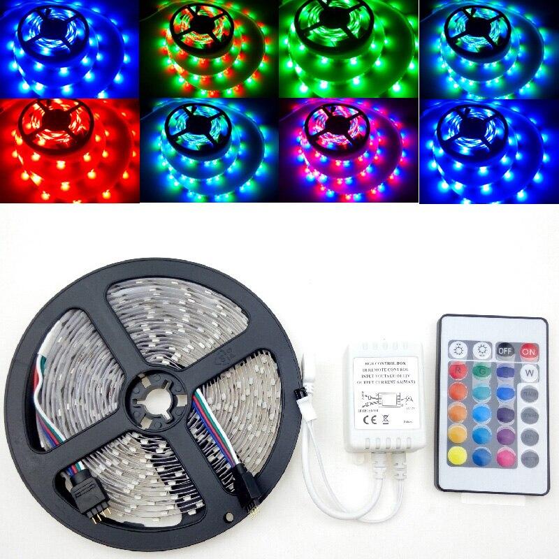 Bright 3528 12 Volt Led Strip Lights 240 Leds: 12 Volt 3528 RGB Fantastic LED Strip Light 5m 300leds